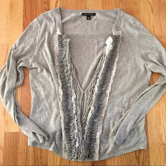 Banana Republic Sweater Long Cardigan Xl - Sweater Vest