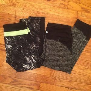 Active Life Pants - 2 workout capris!