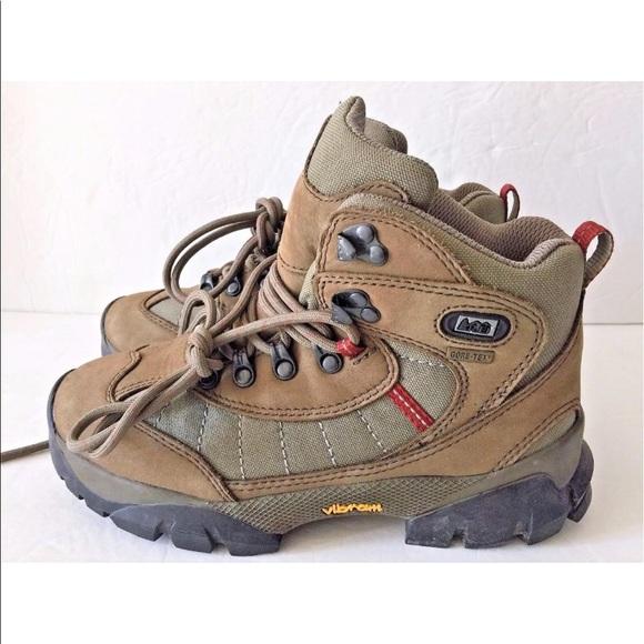 cf22fc2d28c REI Monarch III Gore Tex Walnut Hiking Boots 6.5