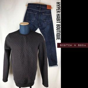 Scotch & Soda Other - Scotch & Soda Quilted Sweater