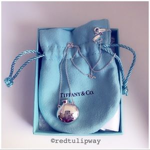 🌹SOLD🌹Auth. Tiffany & Co. Round Bottle Pendant