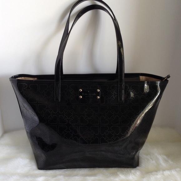 62% off kate spade Handbags - 💫SALE!💫Kate Spade Black Patent ...