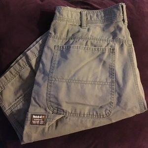 Green Timberland shorts size 34 great condition
