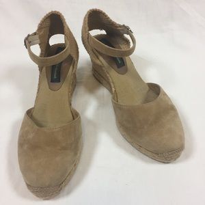 Ilse Jacobsen Shoes - Ilse Jacobsen tan suede rope espadrille size 8