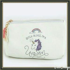 October Love Handbags - Unicorn Makeup Bag