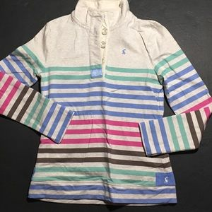 Joules Tops - Joules 3/4 Button Up Pullover sweatshirt US6