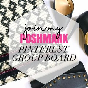 Help me share the Poshmark love on Pinterest!