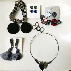 H&M Jewelry - Bold Jewelry 7 pieces