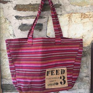 FEED Handbags - Feed Guatemala 3 Support UNICEF multicolored tote