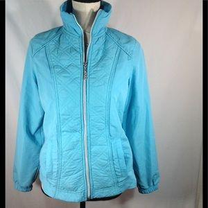 ACTIVOLOGY Jackets & Blazers - ACTIVOLOGY Blue windbreaker jacket size Small