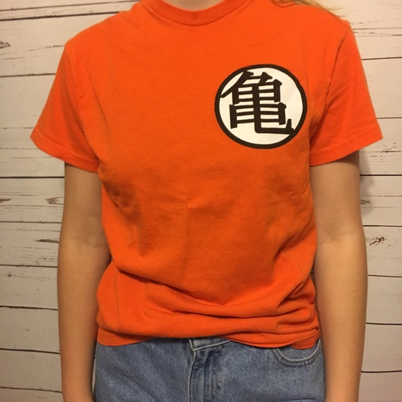 Hot Topic Tops Dragon Ball Z Kame Symbol Tee Shirt Small Unisex