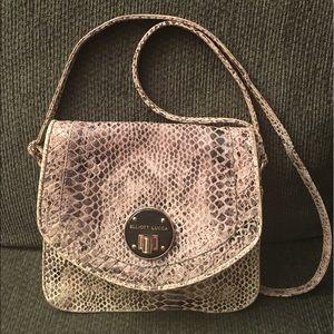 Elliott Lucca Handbags - Elliott Lucca Leather Cross Body Handbag Purse