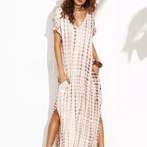Boho chic flowy dress