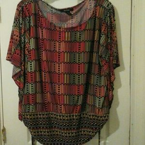Style and Co Woman Top