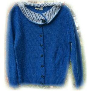 💋2 for $20 sale! VINTAGE 1960s blue sweater