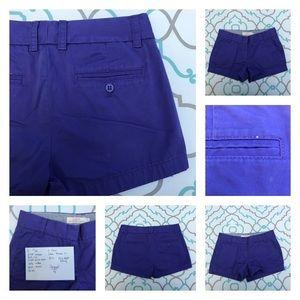 J. Crew Pants - 💙👖Adorable J Crew Cotton Shorts👖💙26 1/2  3 EUC