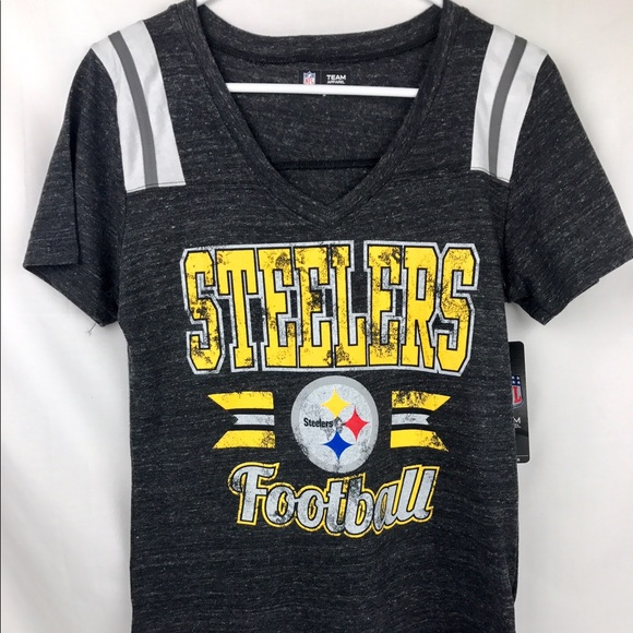 407adf8d097c6 NFL Tops | Pittsburgh Steelers Womens Vneck Short Sleeve | Poshmark