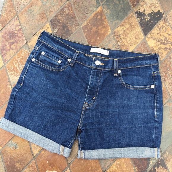 67% off Levi's Pants - Levi's | Cuffed Denim Shorts from Celeste ...
