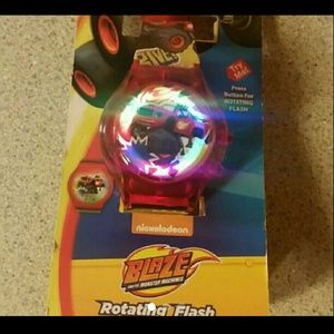 Other - Blaze Watch with Rotating Light & LED Time Display