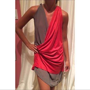 Greek Goddess Drape Dress
