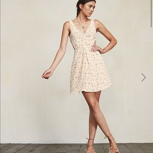 Reformation Murcia Dress, sz 4 in Anette