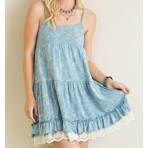 Dresses & Skirts - Lace Detailed Dresd