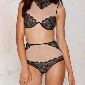 Nasty Gal Victoria Lace Panties
