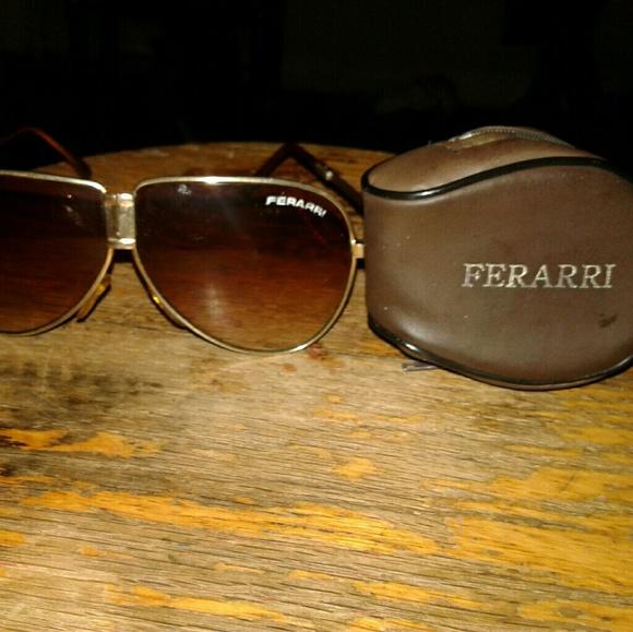 1960 vintage Ferrari unisex aviator sunglasses fol Boutique