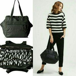 Liebeskind Handbags - HUGE! Liebeskind Black Leather Bag XL
