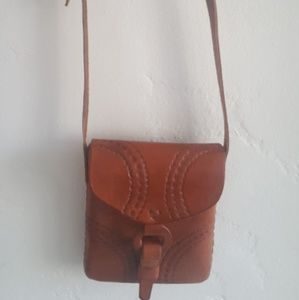 Handbags - Beautiful leather crossbody bag