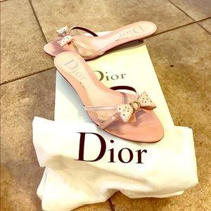 Dior Shoes - Dior kitten heel mule