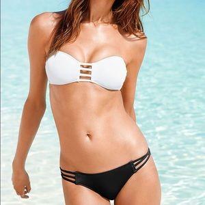 Victoria Beckham Other - Victoria's Secret Black Strappy Front Bandeau Top