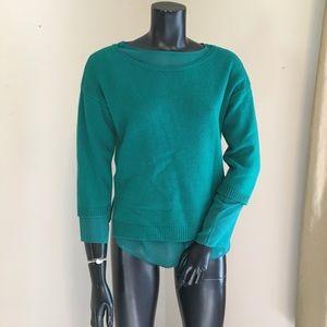 Ann Taylor Emerald Green Sweater