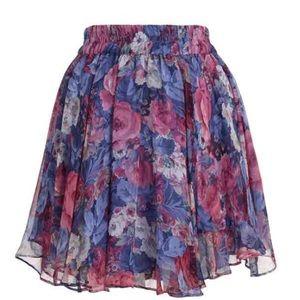 Zimmermann Dresses & Skirts - Zimmermann silk flip side skirt 1