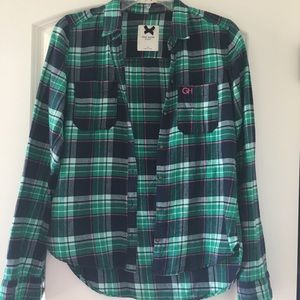 Abercrombie & Fitch Tops - Gilly Hicks/ A&F Plaid Flannel size XS