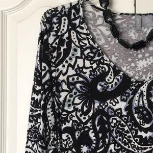 Kenar Tops - Paisley print tunic