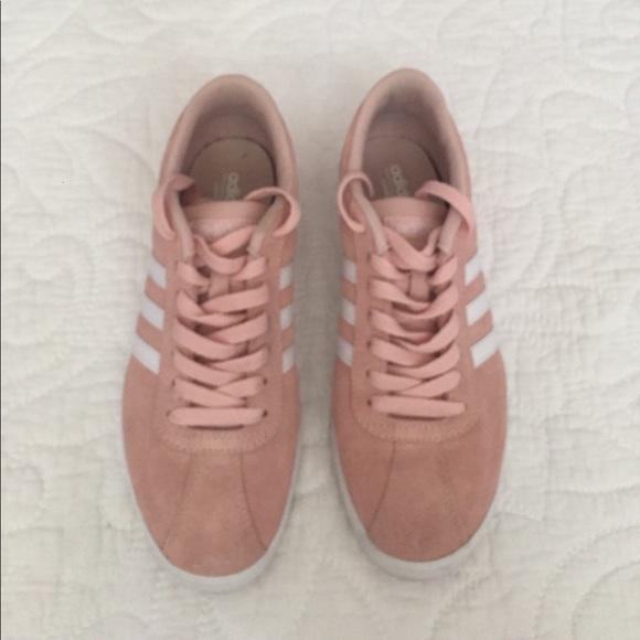 dames adidas neo courtset schoenen