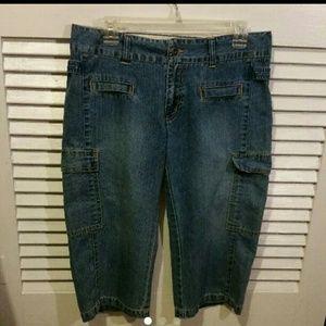 Austin Clothing Co. Pants - Denim Capris