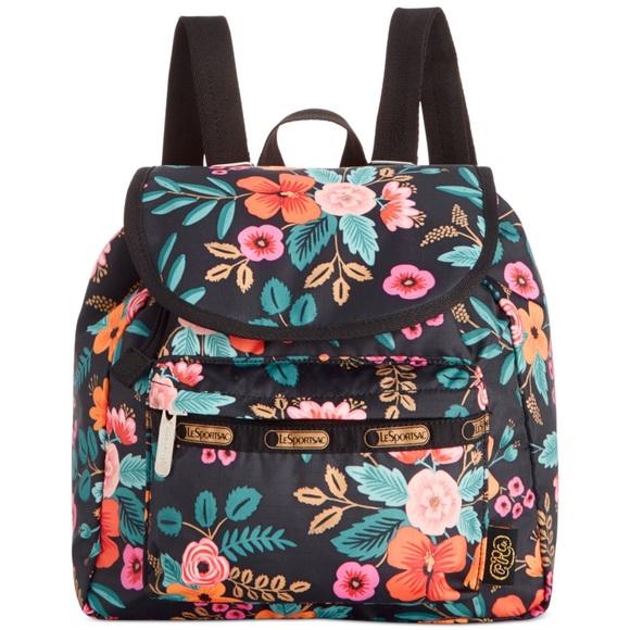 93984686073 LeSportsac Handbags - 🎉HP🎉 Lesportsac Rifle Paper Small Edie Backpack
