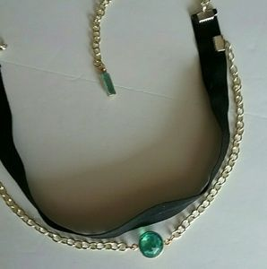 Poetry in Motion Jewelry - Emerald City Choker