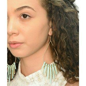 Jewelry - Drop Style Fringed Earrings