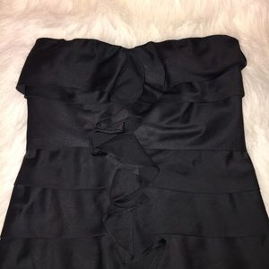 The Limited Dresses & Skirts - The Limited Black Ruffle Dress