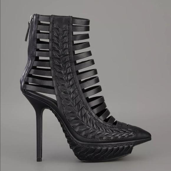 bd1b114742 Haider Ackermann Shoes | Woven Strapped Stiletto Heels | Poshmark