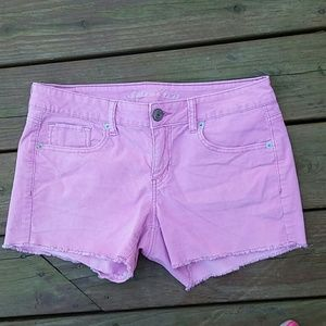 American Eagle Outfitters Pants - American Eagle Outfitters size 10 pink shorts