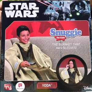 Other - Star Wars Disney Yoda Snuggie for Kids One Size