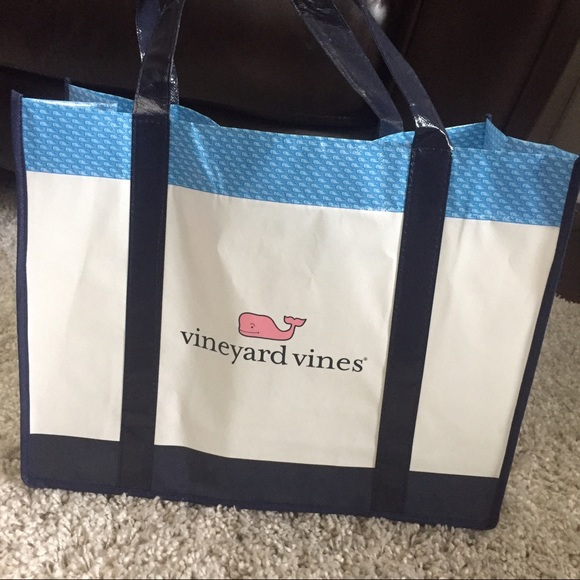 Vineyard Vines Preppy Vineyard Vines Vinyl Tote Bag From