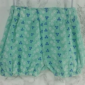 Other - Teal daisies Balloon Shorts. Kids