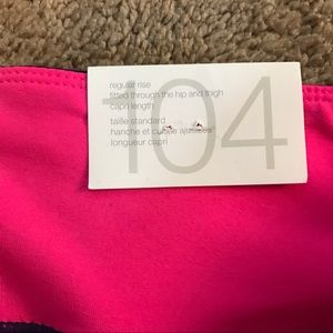 9b99a92402b789 GAP Pants | Nwt Fit Blue Pink Ombr Crop Gym Leggings Med | Poshmark