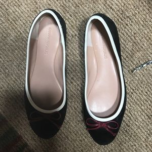Banana republic black flats. Size 7.5