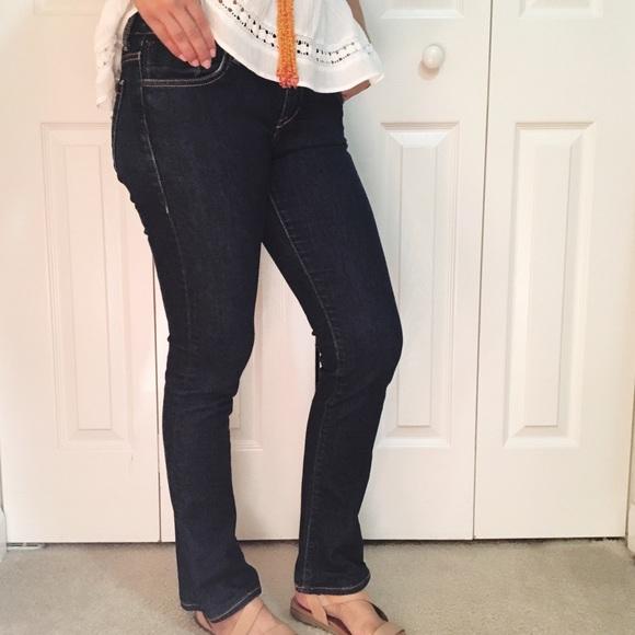 Denim - NEW Dark Rinse Bootcut Jeans